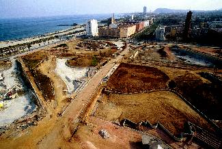 The Diagonal Mar development site (1999)