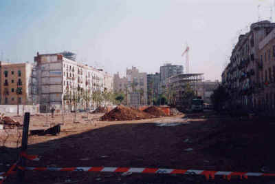South El Raval: the creation of the new pedestrianised zone or Rambla