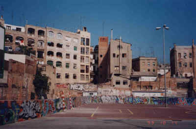 North El Raval: the site of the planned Humanities University