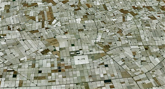 Almer�a: Agribusiness Cluster (Google Earth)