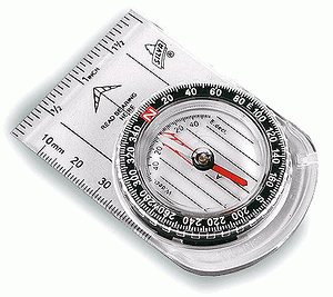 Compass reading: The complete compass - a misleading, but very common picture.