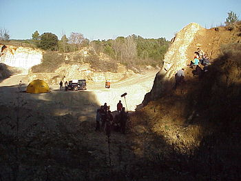 The Big Dig site at Besalu