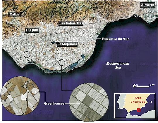 Almeria: the Sea of Plastic