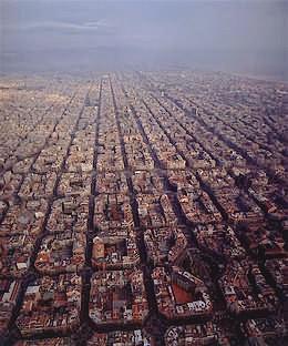 Βαρκελωνη, αεροφωτογραφια