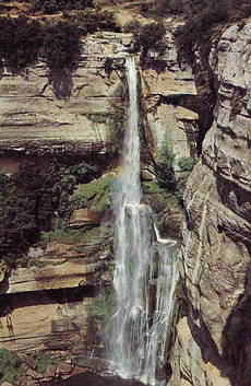 Salt de Sallent waterfall, Collsacabra