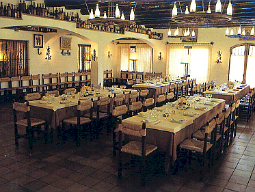 La Masia Banquet room