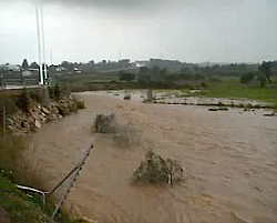 Muntanyans flash flooding