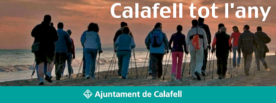 'Calafell, all year' - Calafell is a pioneer resort in Nordic walking